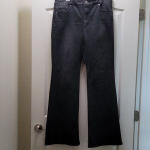 Good American Flare Leg Jeans